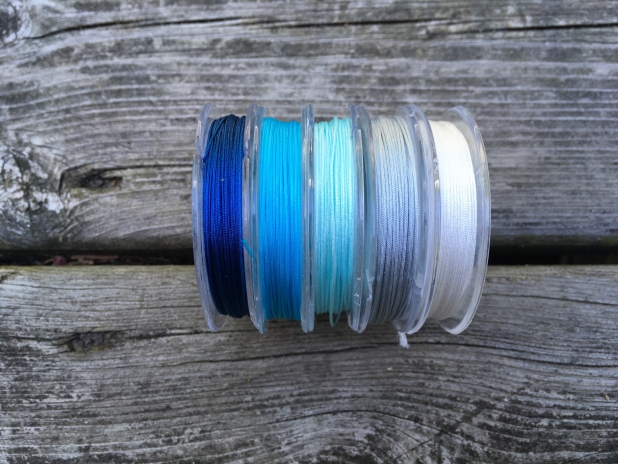 Nylon cord colors